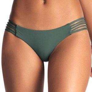 Vitamin A Sage Ecolux Jaydah Braid Bikini Bottoms